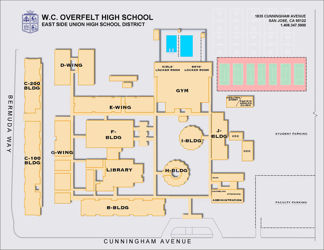 Esuhsd William C Overfelt High School School Info